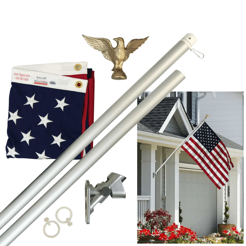 Porch Outrigger and Wall Mounted Flagpoles