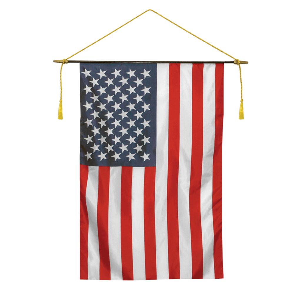 Indoor US Flags