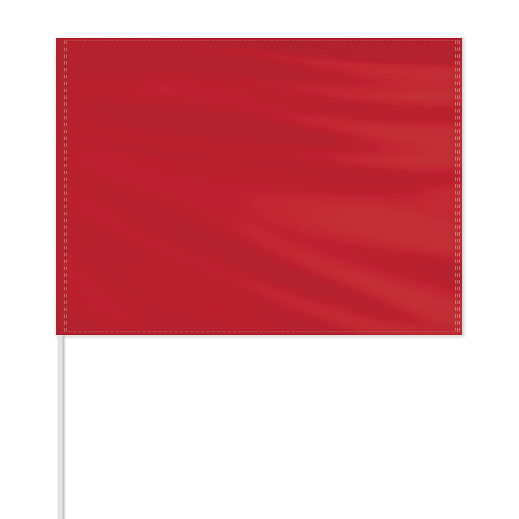 Solid Color Field Flag - Canada Red - FlagCo