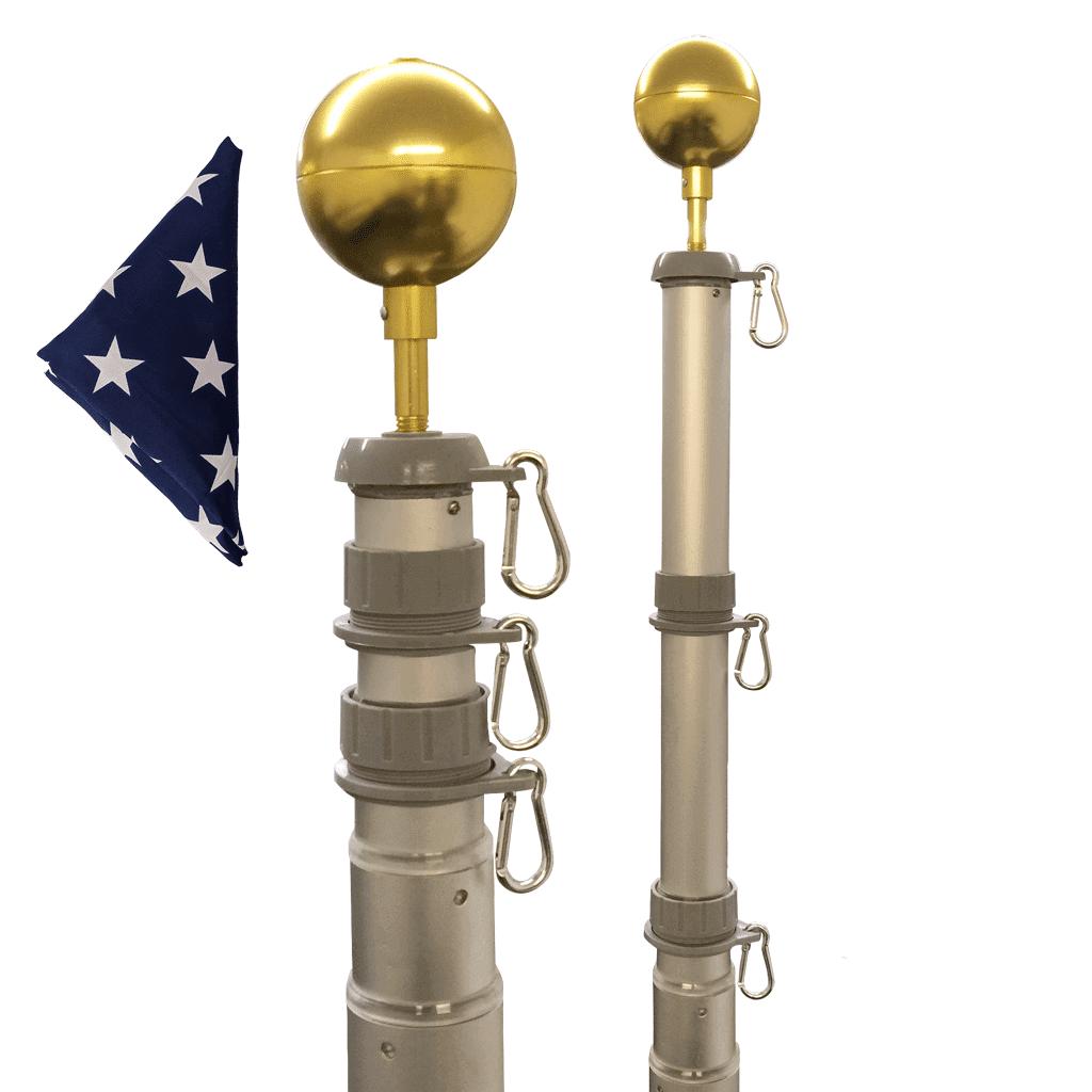 Telescoping Flagpole Kits
