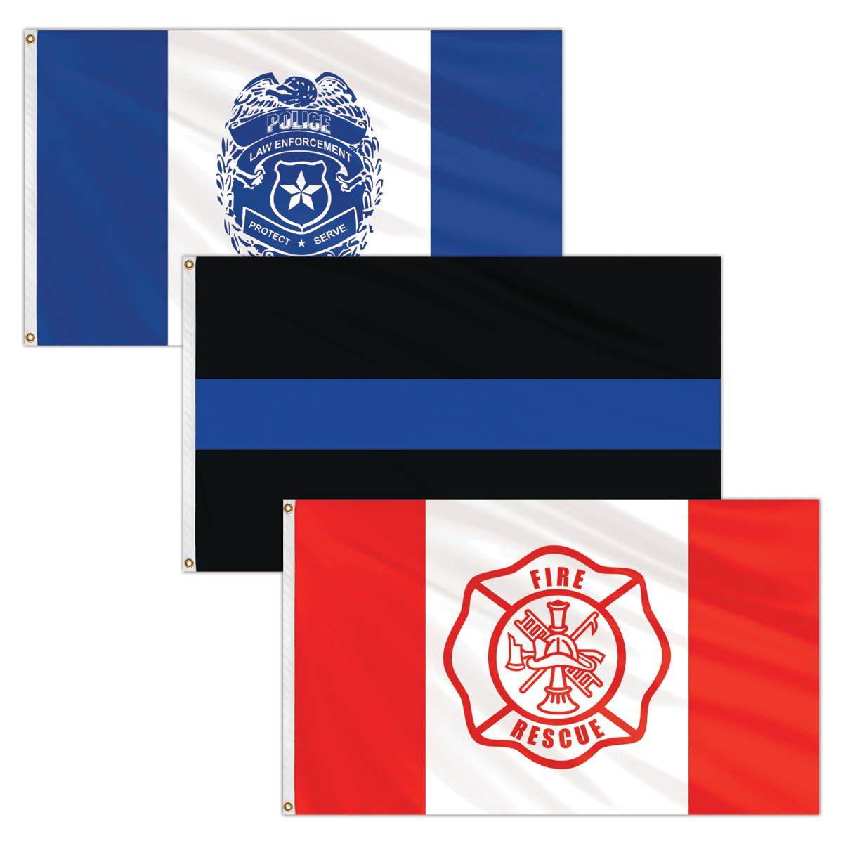 First Responder Flags