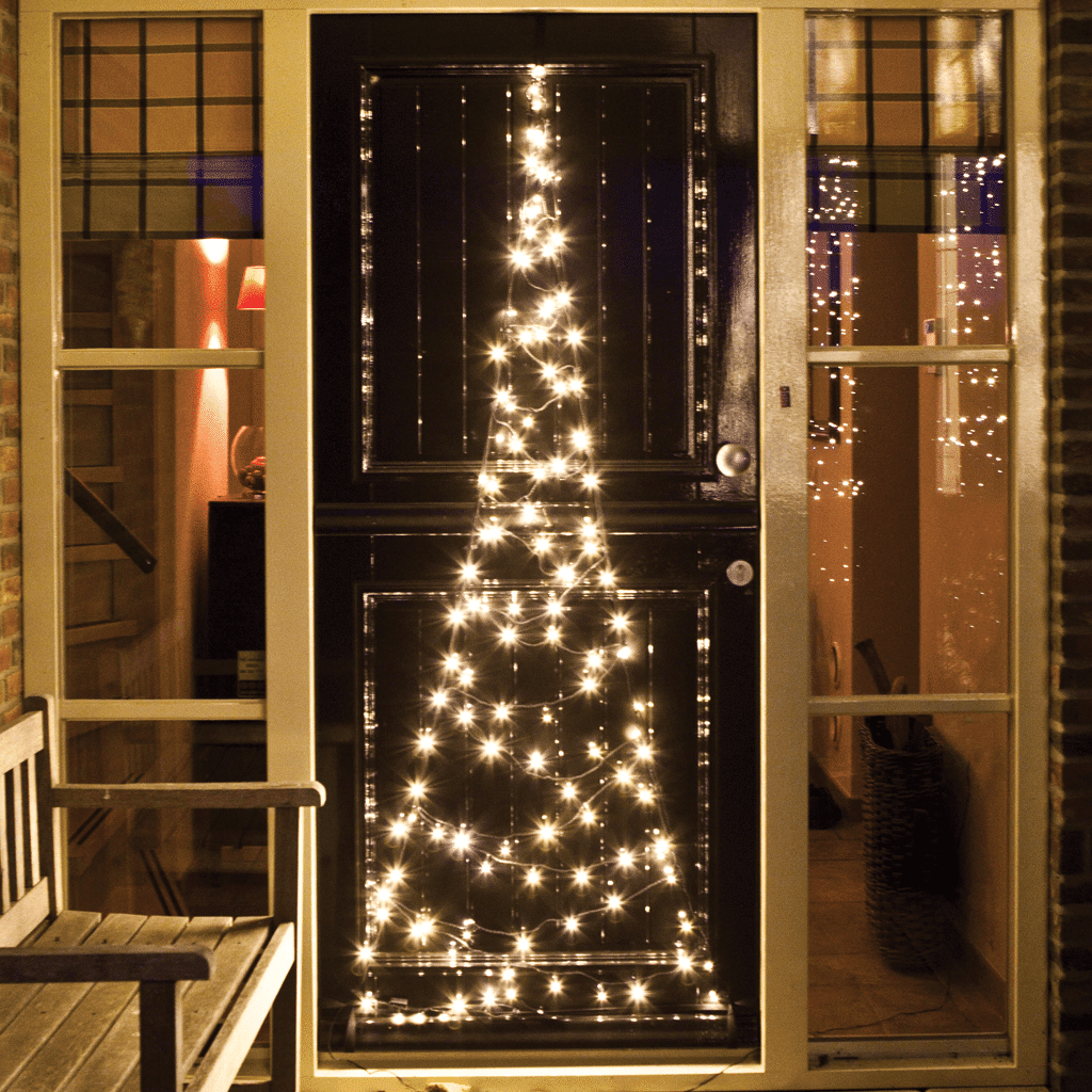 Fairybell Christmas Tree Door Lights Warm White Flagco