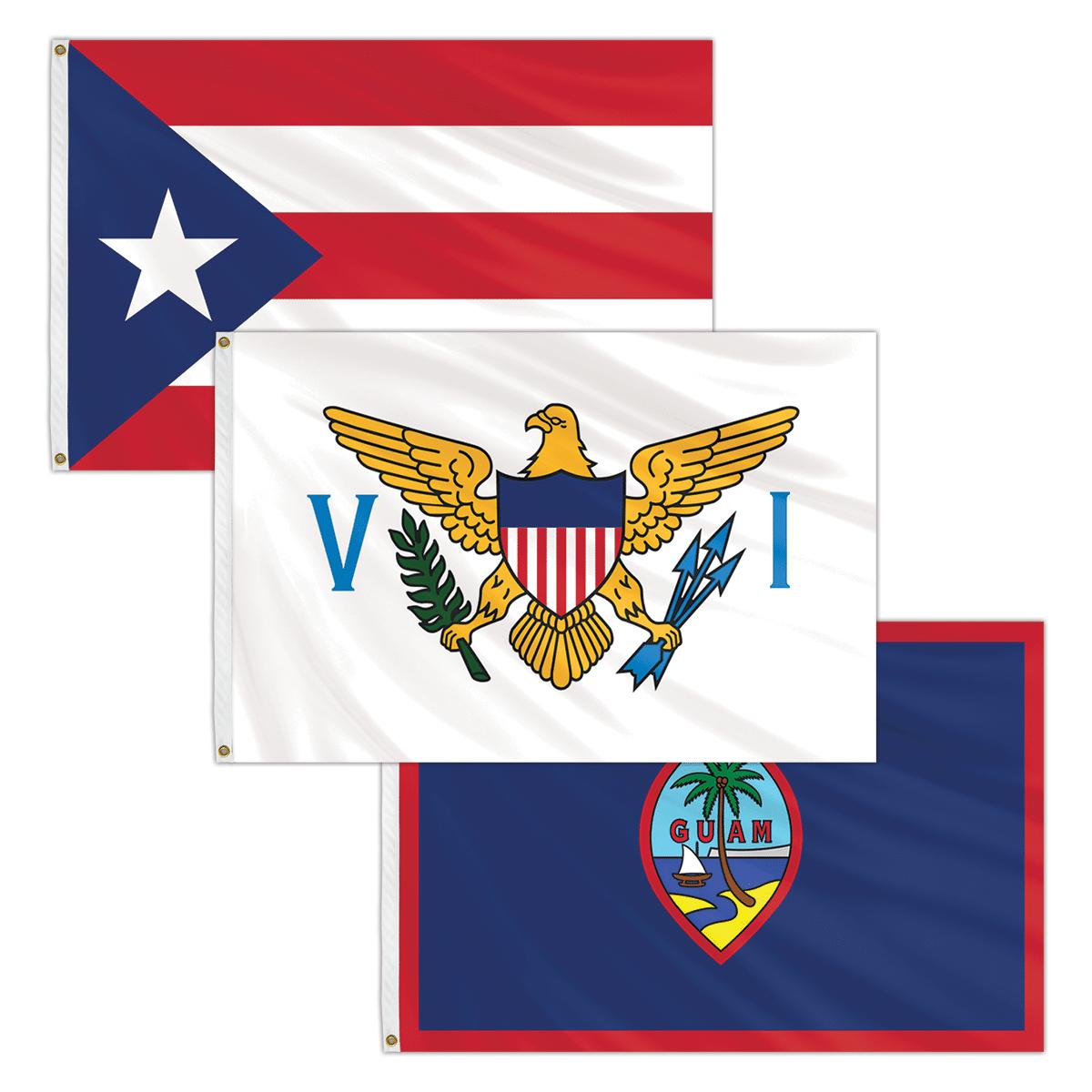 US Territory Flags