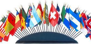 World Stick Flags