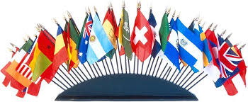 World Stick Flags