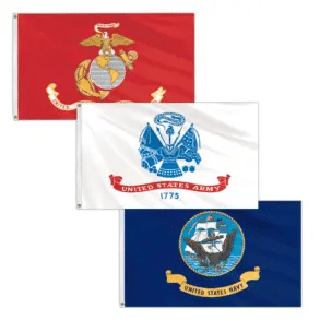 Military Flagpole Kits