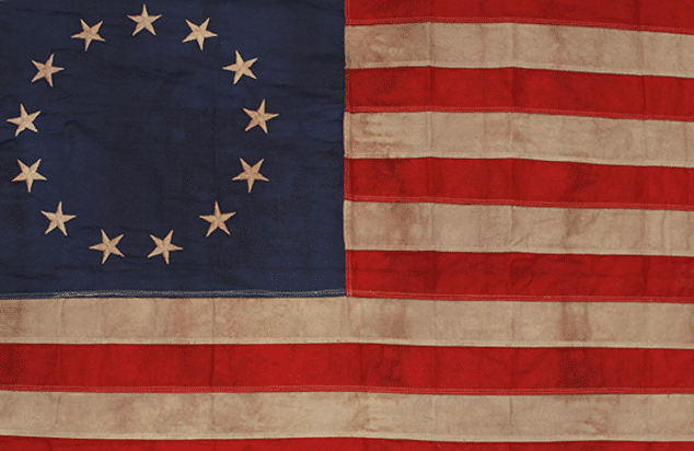 Heritage Antiqued Flags